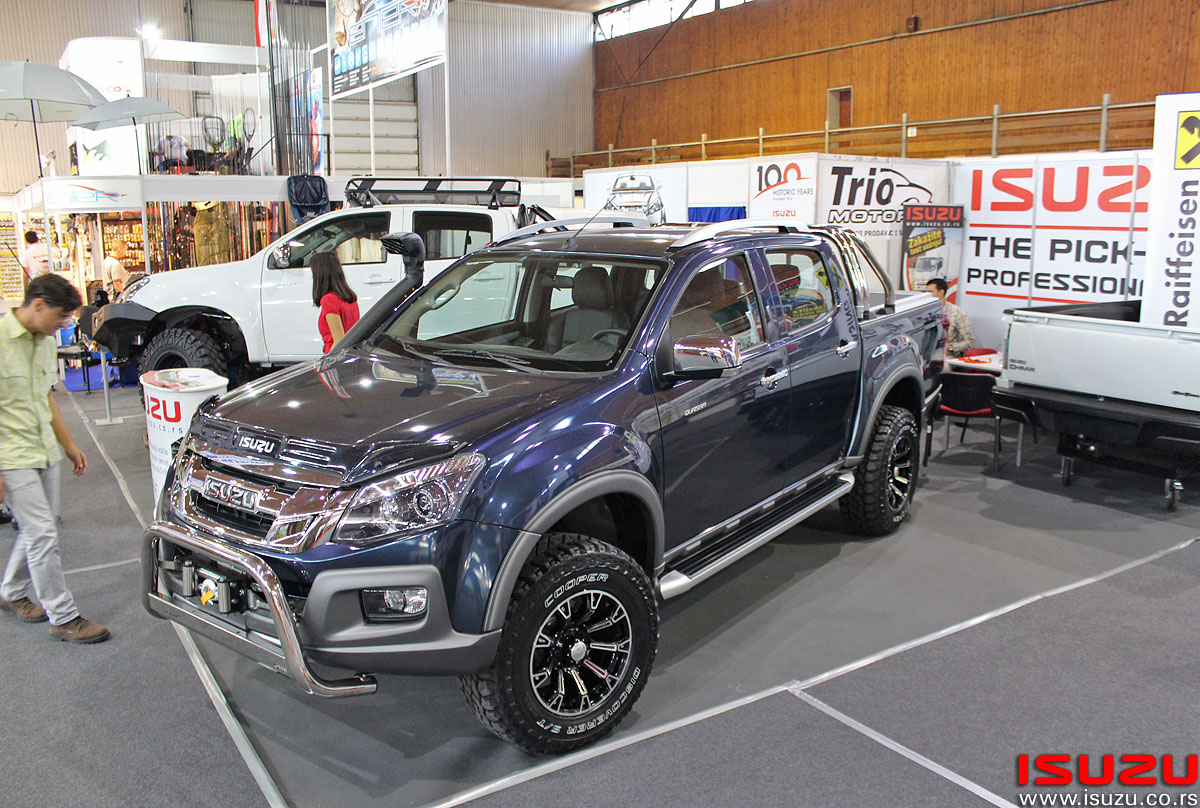Isuzu D-MAX LORIST Trio Motors