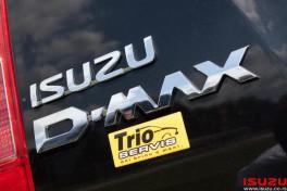 Isuzu D-Max Trio Motors test vozilo
