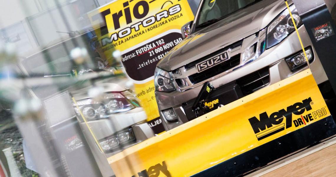 Isuzu D-Max na sajmu automobila u Kragujevcu