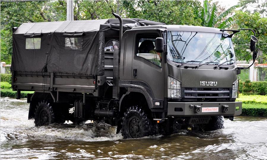 Isuzu vojna vozila