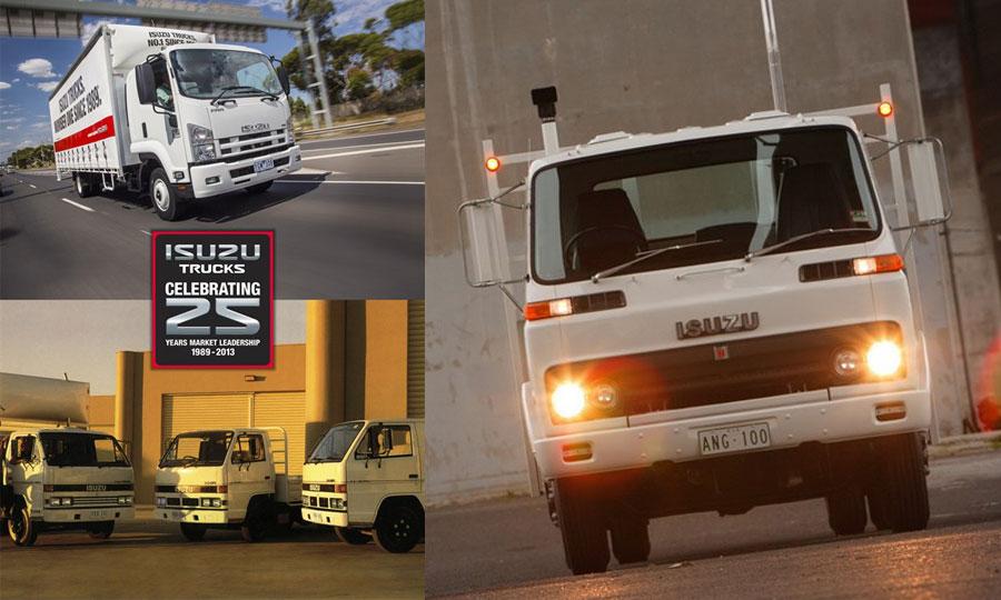 Restauracijom Isuzu SBR 422 modela slavi se 25 godina na tržištu kamiona