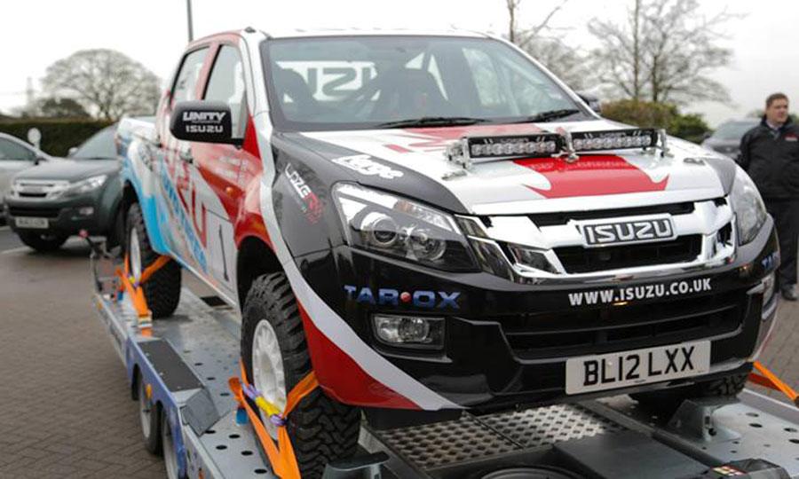 Isuzu D-Max Rallye – Terenac spreman za učešće na BCCC