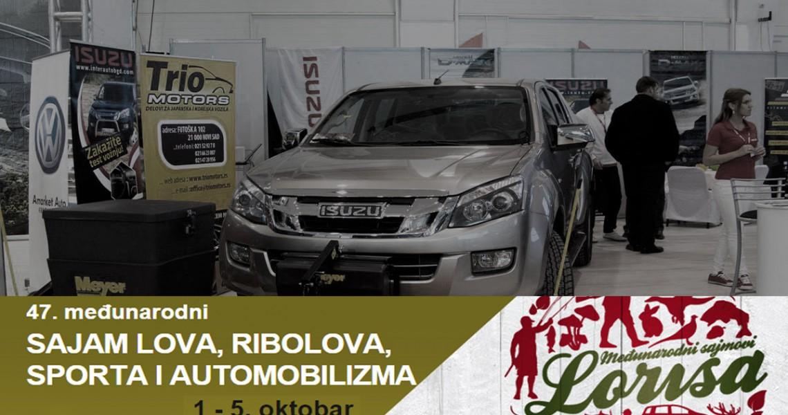 47. međunarodni SAJAM LOVA, RIBOLOVA, SPORTA I AUTOMOBILIZMA u Novom Sadu