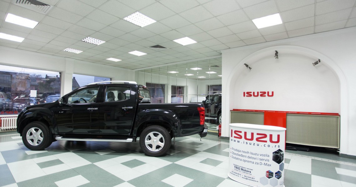 Otvoren prvi prodajni salon ISUZU-a u Novom Sadu