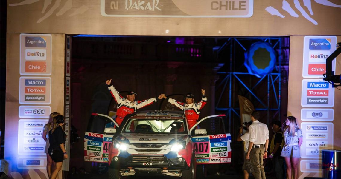 Isuzu na Dakar Rally 2015