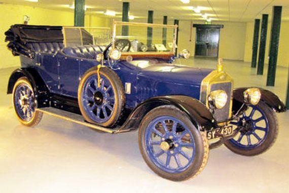 Proizvodnja prvog automobila