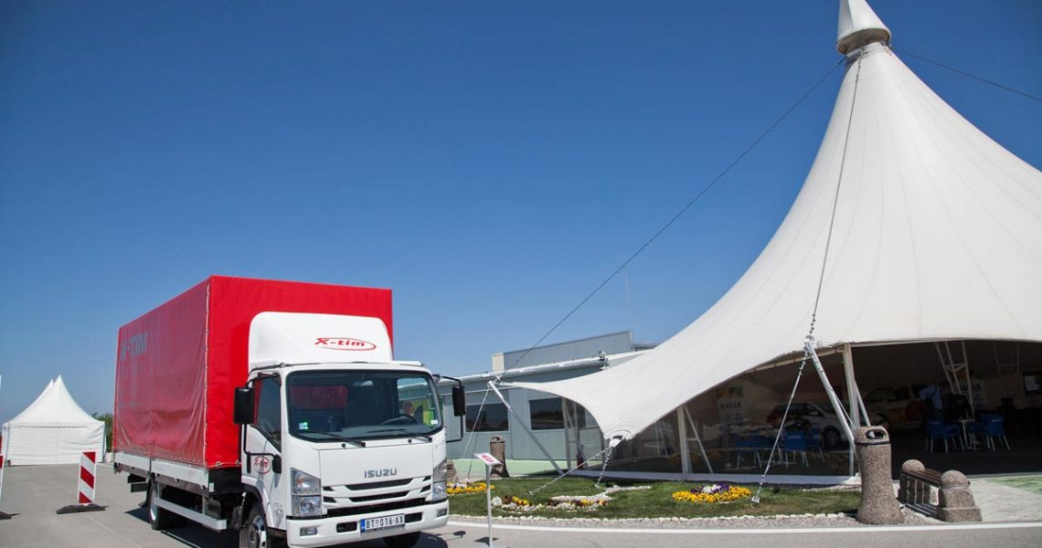 ISUZU vozila na Shell Transport Open Days 2016