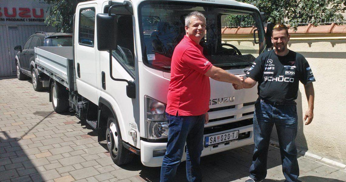SZR Simba Senta – Ponosni vlasnik kamiona Isuzu N35 H Crew