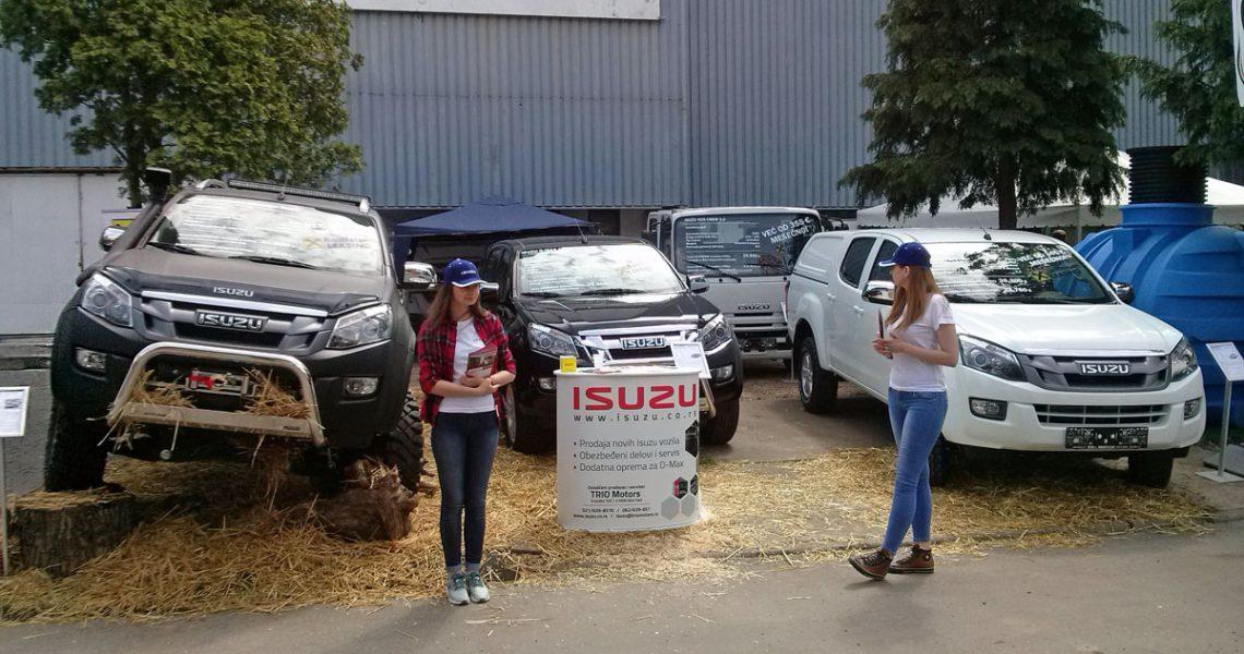 ISUZU vozila na Poljoprivrednom sajmu u Novom Sadu