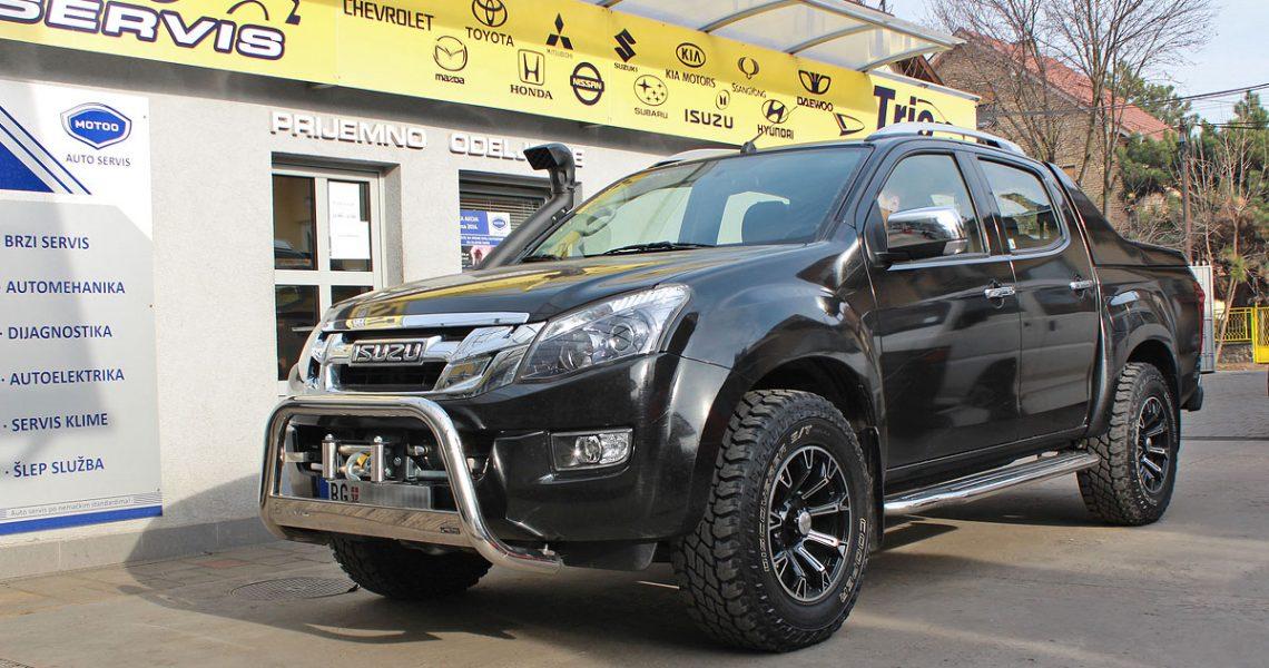 ISUZU D-MAX – Idealan i kao lifestyle vozilo