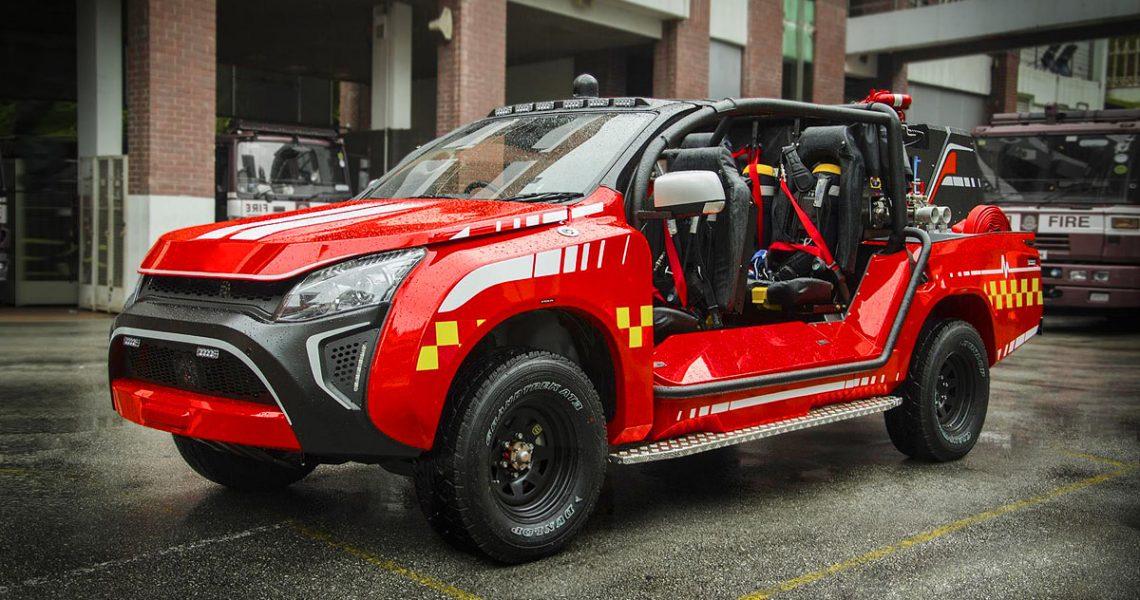 "Urbani vatrogasac – Isuzu D-MAX kao ""Crveni nosorog"""