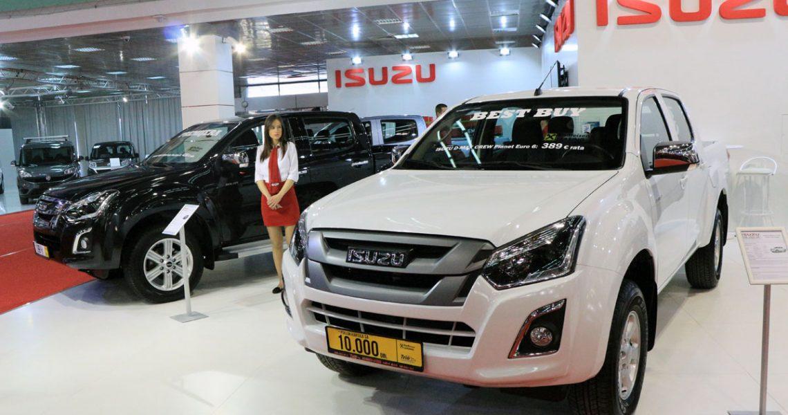 Novi ISUZU D-MAX debitovao na Salonu automobila u Beogradu