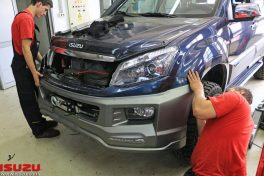 Isuzu D-MAX Urban Monster bodykit ugradnja
