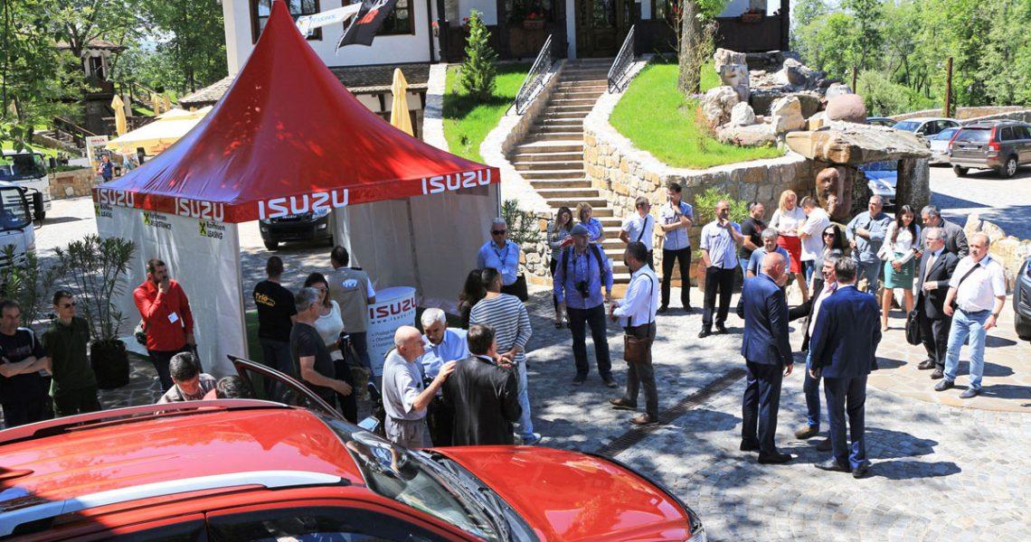 ISUZU Pirot B2B Roadshow 2017.