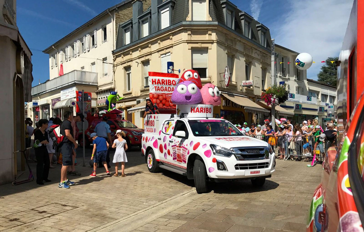 isuzu haribo tour de france 2017
