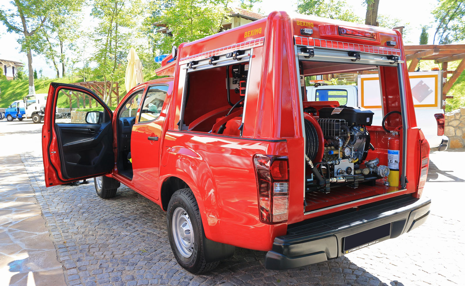 Vatrogasno vozilo VP200