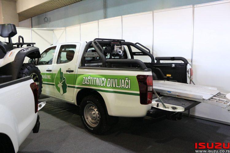ISUZU D-Max vozila na 15. Sajmu automobila u Novom Sadu