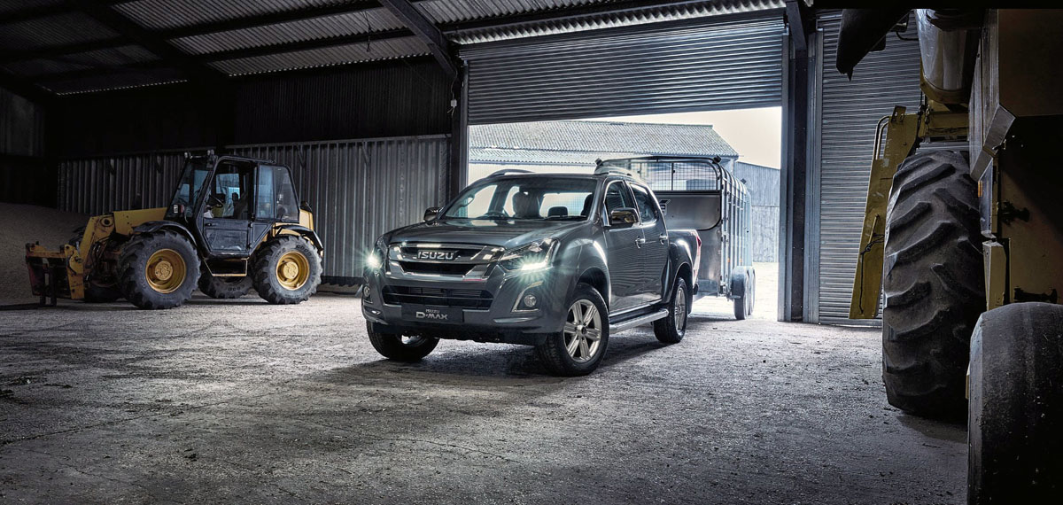 isuzu d-max pickup of the year 2018
