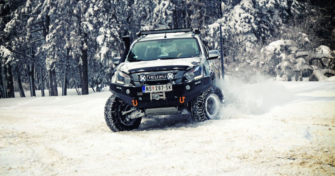 ISUZU D-Max Monster Adventure (VIDEO)