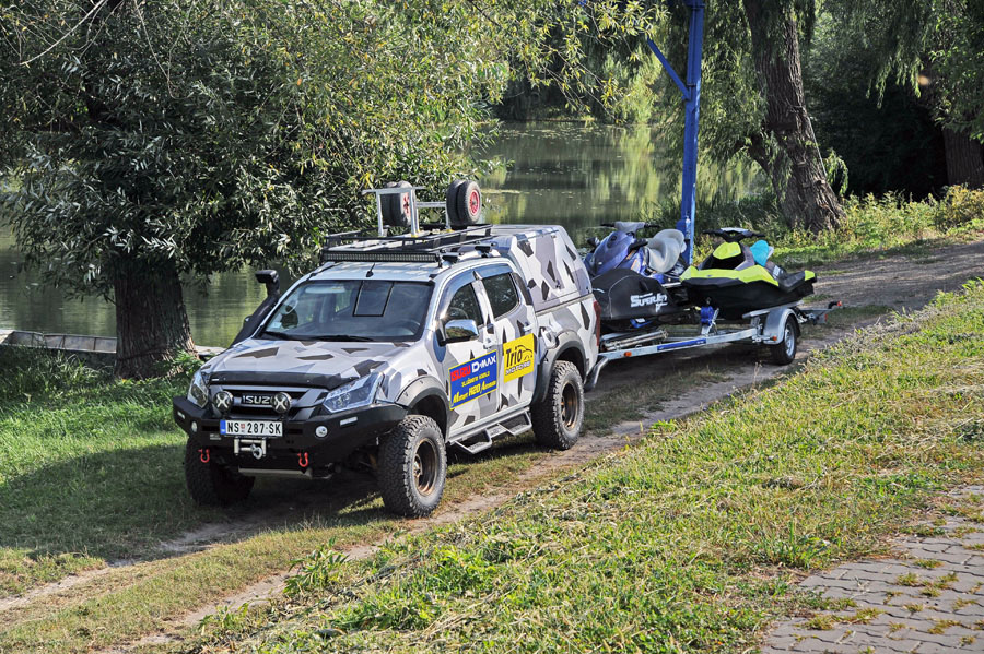 isuzu d-max monster adventure