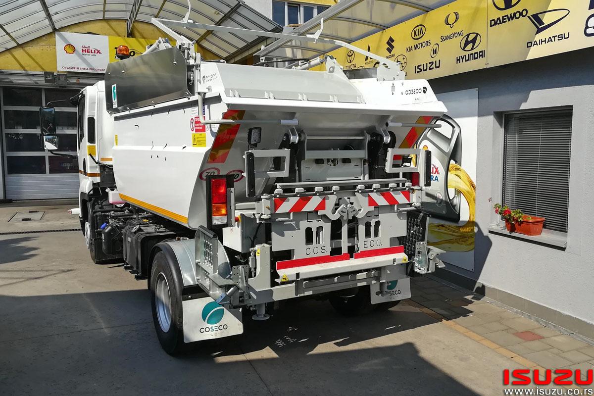 ISUZU F11 kamion COSECO