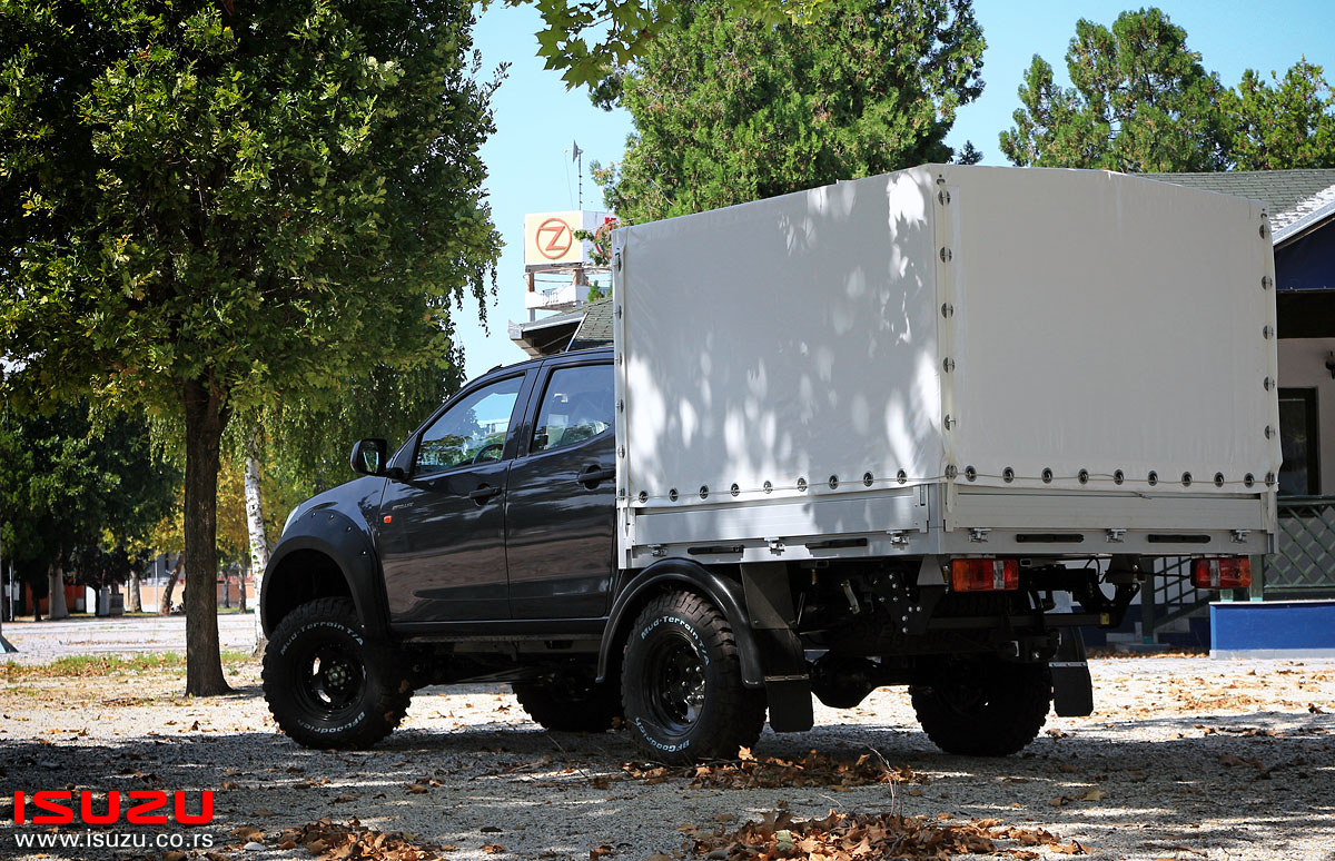 isuzu d-max monster truck kolubara