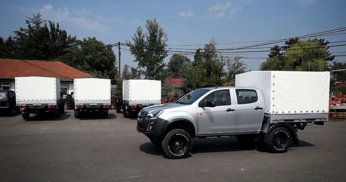Nova flota ISUZU D-Max Monster Truck za JP EPS – RB Kolubara