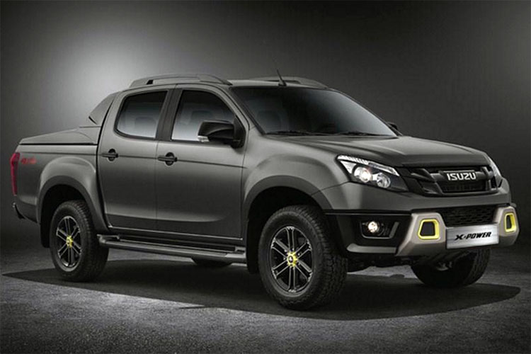 isuzu d-max x-power special edition