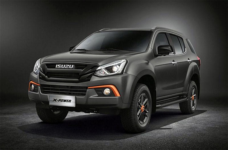 isuzu mu-x x-power special edition