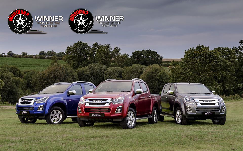 WhatVan? proglasio ISUZU D-Max za Pick-Up of the Year 2019