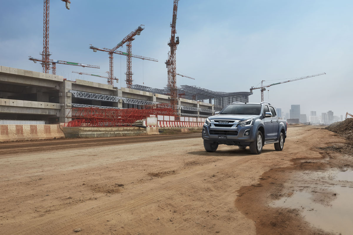 commercial fleet isuzu d-max
