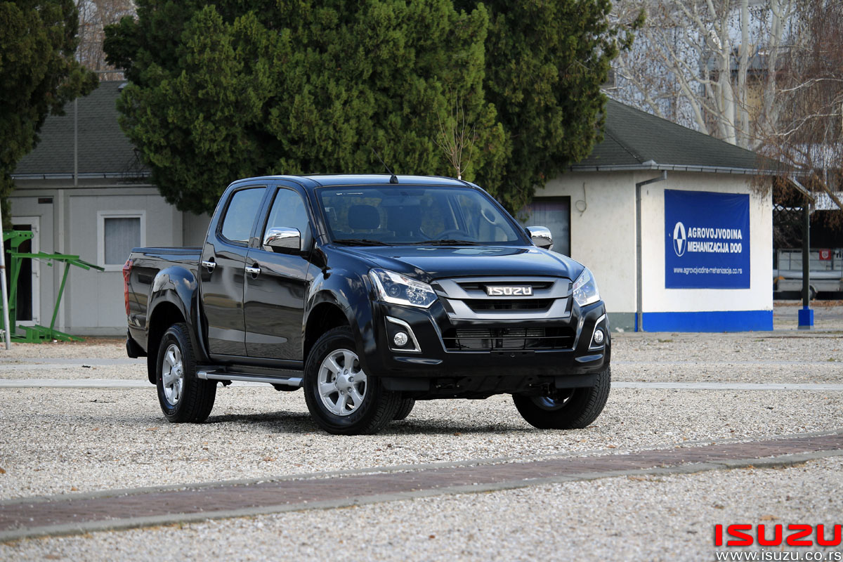 isuzu trio motors salon automobila u beogradu