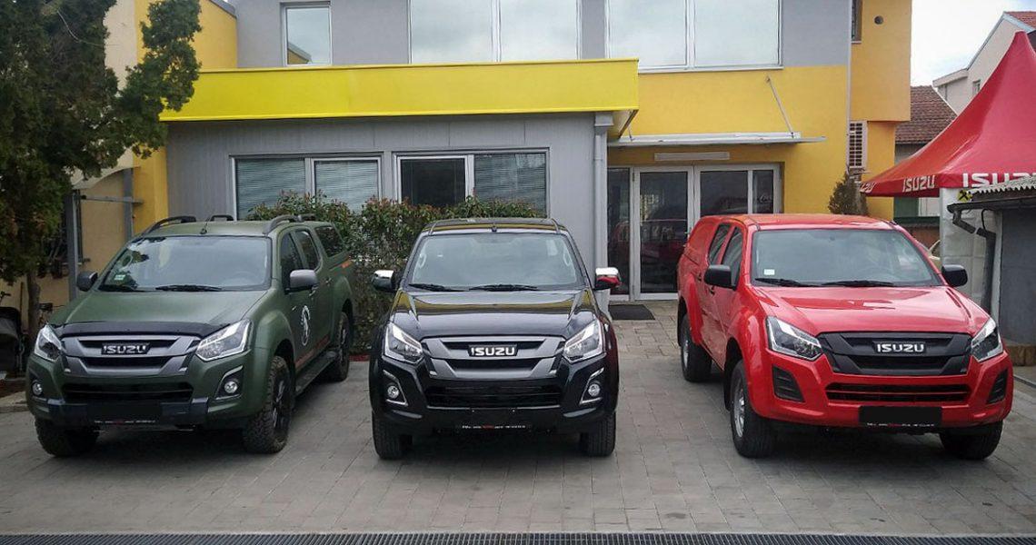 ISUZU vozila na 54. Međunarodnom salonu automobila u Beogradu