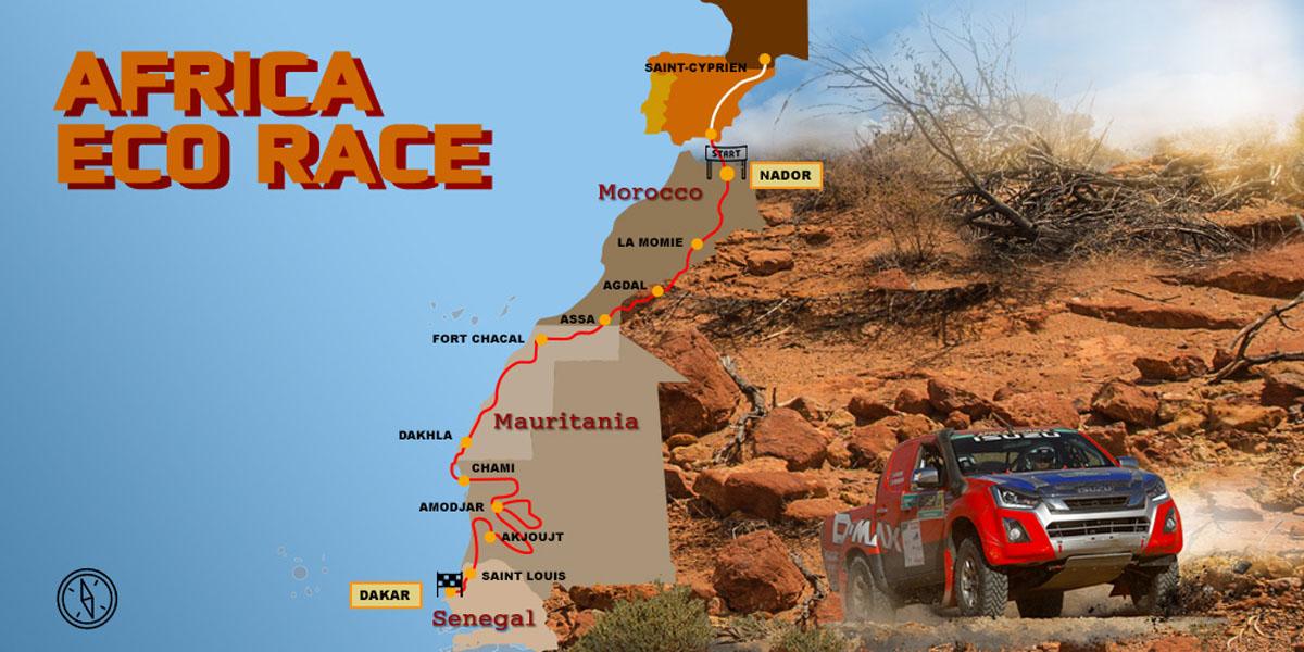isuzu d-max africa eco race 2019