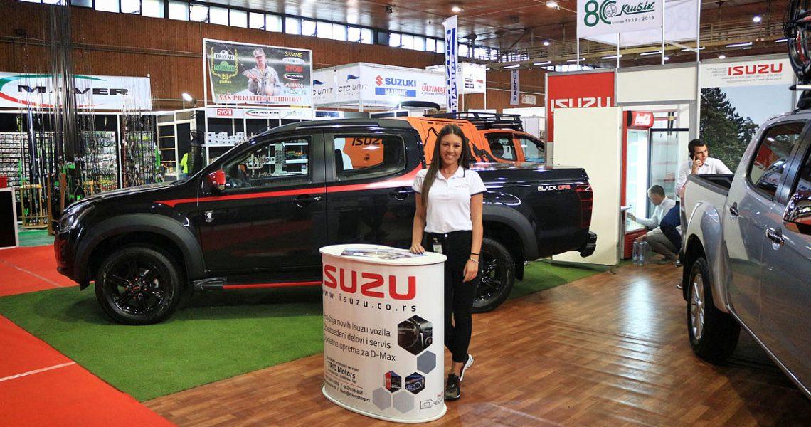 Uspešan nastup ISUZU vozila na sajmu LORIST 2019
