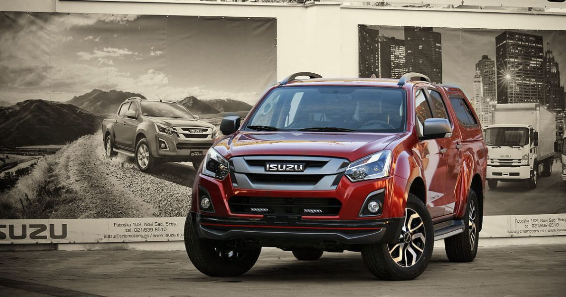 ISUZU D-Max Shogun Edition by TRIO Motors