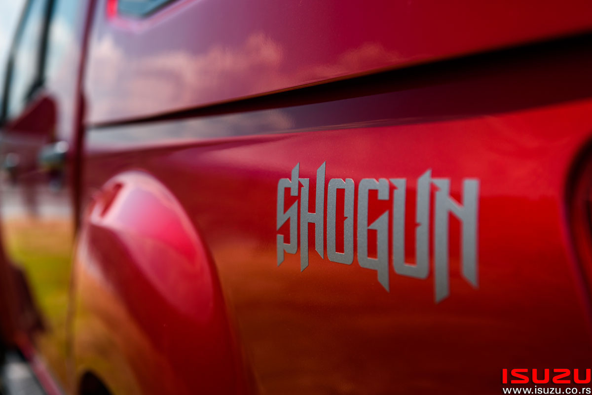 isuzu d-max shogun edition trio motors