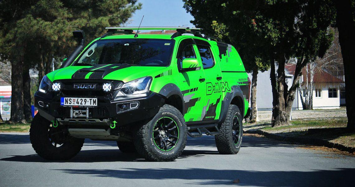 ISUZU D-Max Green Monster – novi projekat TRIO Motorsa