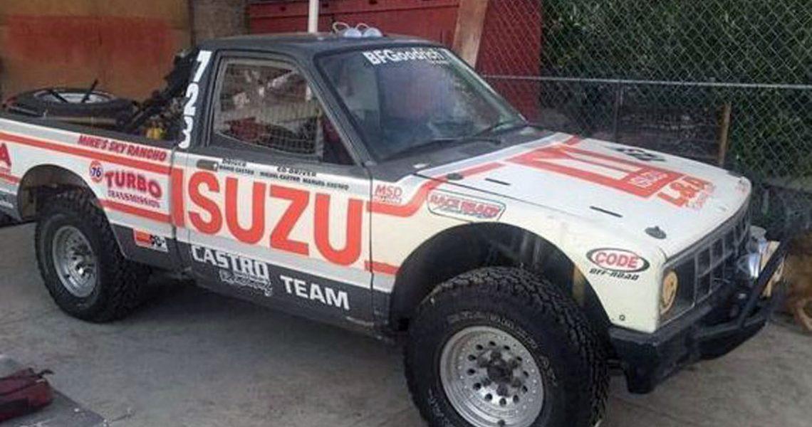 Na prodaju ISUZU P'up – pobednik relija Baja 1000