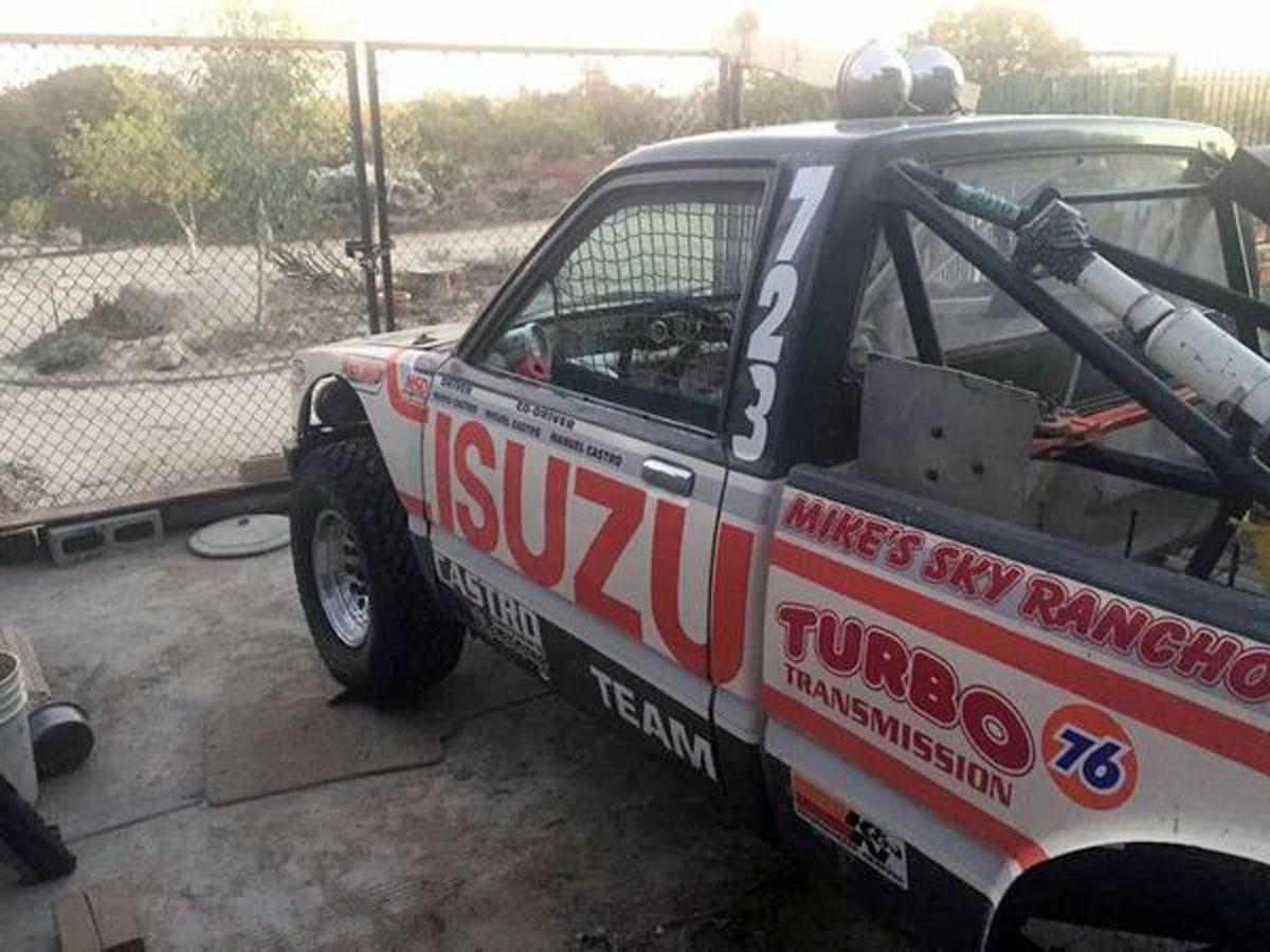1984 isuzu pickup baja 1000