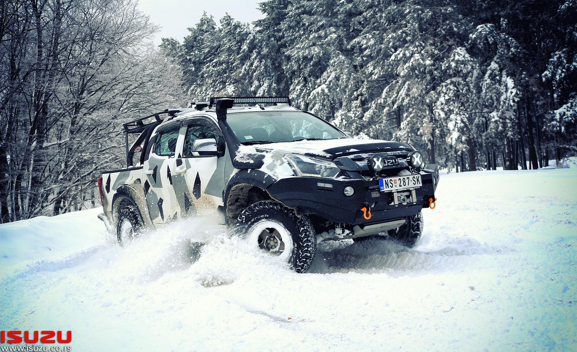 isuzu d-max monster truck adventure